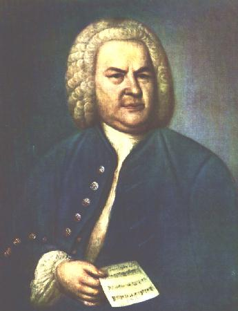 Click Bach's Picture to See some of His Music