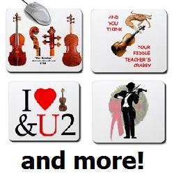 Violin Christmas Gifts, Mouse Pads