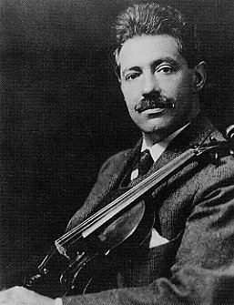 Violinist Fritz Kreisler -- Click Here for Kreisler's music at Amazon.com