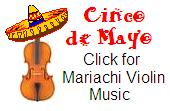 Viva Cinco de Mayo -- Mariachi Violin Sheet Music