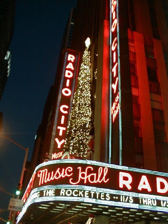 Radio City Music Hall     Click the Picture to go to Their Web Site